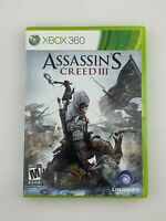 Assassin's Creed III - Xbox 360 Game - Complete & Tested