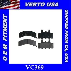 Front Brake Pads For Dodge, Cadillac, Chevrolet, GMC Base On Fitment Chart