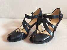 Clarks Damen Sandalette Sandale schwarz Gr. 4,5 / 37,5 NEU !