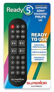 Universal Fernbedienung Superior Ready5 Simply Samsung Sony LG Philips Panasonic