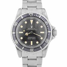 Vintage 1983 Rolex Submariner sin fecha 7.3x Reloj de pátina Maxi Dial MKV MK5 5513
