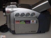 Canon Mini Dv Digitale Video Videocamera Dm-Mv 500E Obiettivo 18x Zoom I. Link