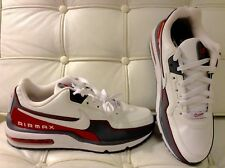 New Nike Air Max LTD 3 Wolf Grey Red White Mens Size 9 shoes 687977 166