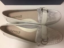Diana Ferrari Supersoft Full Leather Flats Size 8