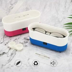 Ultrasonic Jewelry Cleaner Denture Eyeglasses Coins Glasses Cleaning Machine