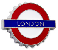 TFL™3009 Licensed London Roundel™ Bottle opener Fridge Magnet