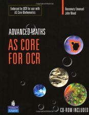 AS Core Maths for OCR (Longman Advanced Maths) [+CD-ROM],Rosemary Emanuel, John
