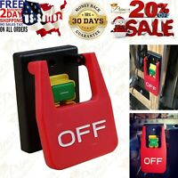 Magnetic Safety Paddle Switch 120V emergency stop Power Tool Router Saw Garage