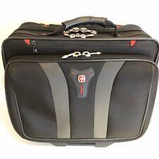 "Wenger SwissGear 17""  Laptop Bag wheeled case carry on tote bag, superb"