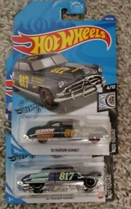 Lot of 2 52 Hudson Hornet #140 Grey and Purple