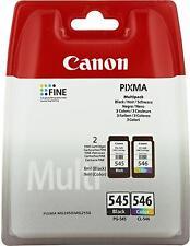 CANON PG-545 / CL-546 Multipack  Inkjet / getto d'inchiostro Cartuccia originale