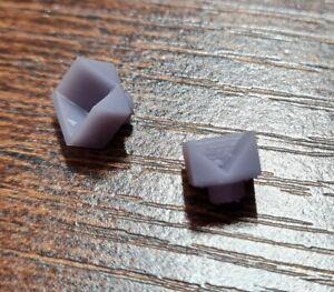 1 Pair V Block Tonarmlager Bearings Set for Lenco Vinyl Record Turntable