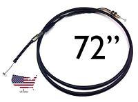 "30/"" 30 inch Twist  gas Throttle Cable for 47cc 49cc Mini Pocket Bike atv quad e4"