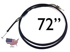 6' Throttle Cable Universal Motorcycles Mopeds Atv Scooters Dune Buggy 72""