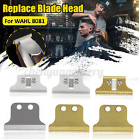 1 Set Wear-resistant Metal Shaver Head Blade For WAHL 8081 Electric Hair