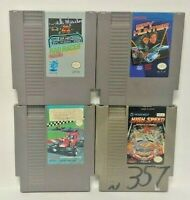 RC Pro Am High Speed Spy Hunter Rad -  Nintendo NES Authentic Game Tested Works