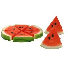 Artificial Fruits Lifelike Realistic Watermelon Slice Decorative Polyfoam Home