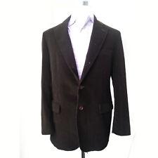 Brooks Brothers Men Size 40R Velvet Dinner Jacket Brown Blazer