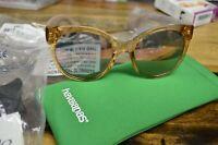 Havaianas Noronha/M  Light Brown Plastic Women Sunglasses Mirror Lens