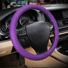 Purple No smell Standard Breathable Sweat Free Eva Car Steering Wheel Cover