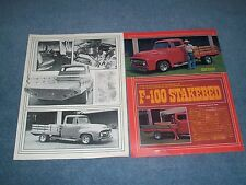 "1956 Ford F-100 Vintage Flatbed Resto-Rod Article ""F100 Stakebed"""