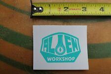 Alien Workshop Skateboards Ufo Teal White Z20b Vintage Skateboarding Sticker
