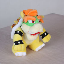 "6.5"" Super Mario Bowser Koopa Character Figure Stuffed Plush Toy Doll Kids Gift"