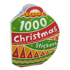 1,000 CHRISTMAS STICKERS & COLOURING ACTIVITY BOOK GIRLS & BOYS CHILDREN AS NEW