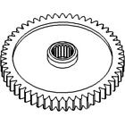 1671706M4 New Constant Mesh PTO Gear Made Fits Massey Ferguson MF Tractor Models