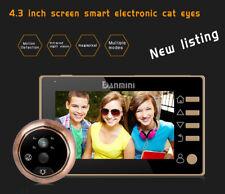 4.3 inch LCD 160 Degree Movement Detecting Peephole Camera Viewer Door Doorbell
