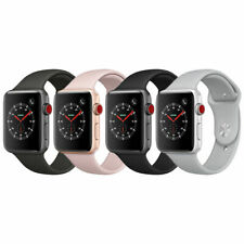 Apple Watch 38mm Series 3 GPS + Cellular with Sport Band MQJN2LL/A - Very Good