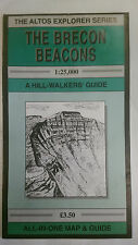 The Brecon Beacons Altos Explorer (2) Hill Walking Map/Guide (1st Edition 1992)