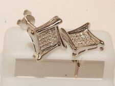 Gold & Diamond Man's Stud Earrings Screw Back Brand New man's studs new jewelry