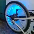 2X LED Flash I LOVE YOU tire Wheel Valve Cap Light 4 Car Bike Motorbicycle COOL!