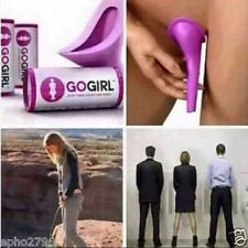 Go Girl Female Urination Device Lavender Travel Woman Urinal Case Stand Up Pee