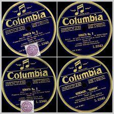 LIONEL TERTIS -VIOLA- & GEORGE REEVES -PIANO- Delius: Sonata No. 2   78rpm GS911
