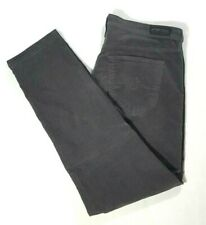 AG ADRIANO GOLDSCHMIED Womens THE STEVIE ANKLE Gray Corduroy Jeans Size 32R (14)