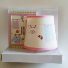 Tiddliwinks Night Light & Switch Plate Set Cloths Line Girls Room Decor