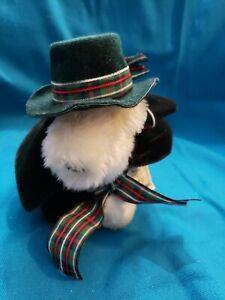 "Muffy vanderbear collection ""A  Christmas Carol"" Lulu dressed elastic stretched"