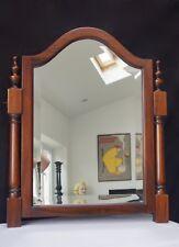 Mirror Vintage Heavy Bevelled Mahogany - We Can Deliver