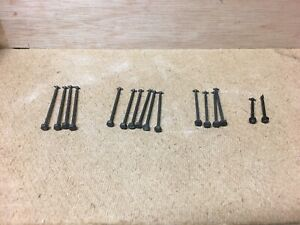 Athearn HO Locomotive Parts Lot Of Assorted Dogbone  Shafts and Worm Gears