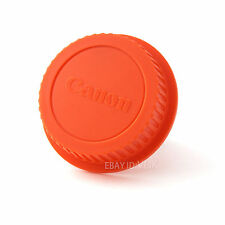 Red Color Camera Rear Lens cap for CANON EOS EF EF-S