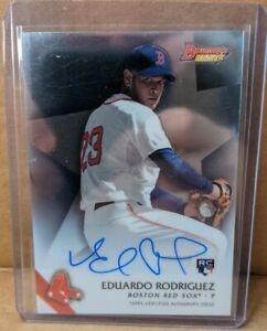 Eduardo Rodriguez Rookie Auto. 2015 Bowman Best. Boston Red Sox Autograph