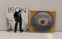 Def Jam: Icon PS3 (Sony PlayStation 3, 2007) Game Disc and Manual Only!! Tested