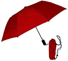 """Gustbuster Metro Dual Canopy Collapsible Windproof 43"""" Umbrella Red Wind Proof"""