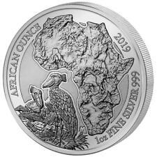 Ruanda - 50 Francs 2019 - Schuhschnabel - African Ounce (12.) - 1 Oz Silber PP