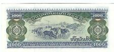 20% off high value MINT 1996 Laos 1000 kip note UNC Read description world lot