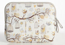 """Sleeve Laptop Case Bag  For 11"""" 11.6"""" Inch Notebook Bird Flying Free  Yellow"""
