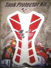 Moto GP Red White Tank Pad Protector Suit CBR GSXR ZX6R Fazer YZF R6 R1 600 1000
