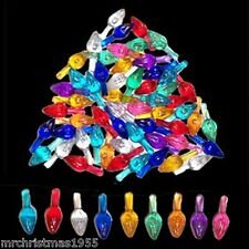 30 Vintage Medium Twist Flames in 9 colors for Ceramic Christmas Trees SPECIAL
